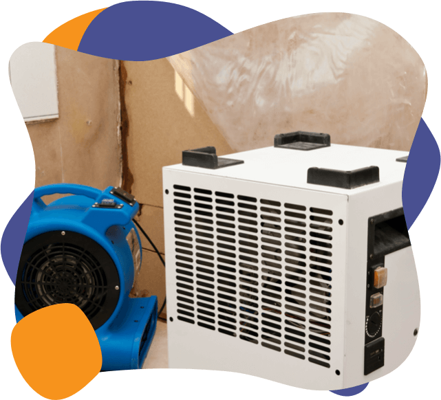 clean ac unit installed into a home