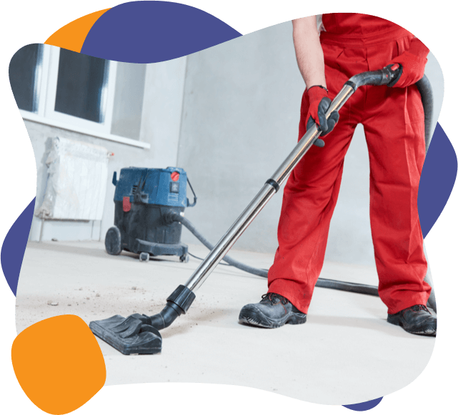 An enviropure home cleaning specialist cleans up ultrafine particles after renovations